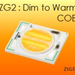 dim to warm COB